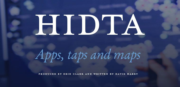 HIDTA logo - Apps, taps and maps